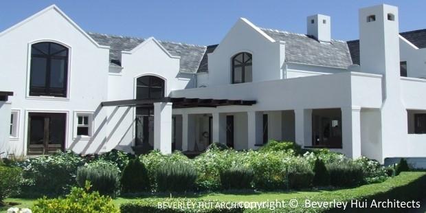 beverley hui architects modern cape dutch home in stellenbosch