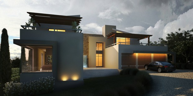 Modern style residential house architect company for Contemporary residential architecture